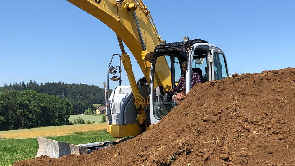 Terrassements, Marcel Delessert SA, entreprise de construction à Essert près