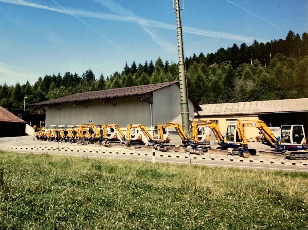Location de machines de chantier, Marcel Delessert SA, Essertes